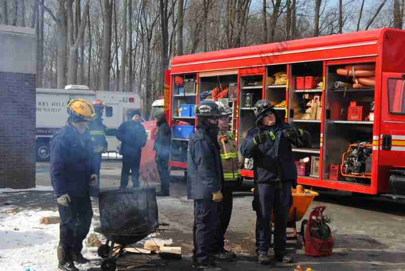 REHAB 13 SUPPORTS CHERRY HILL FIRE DEPARTENT MULTI – AGENCY TECHNICAL RESCUE DRILL