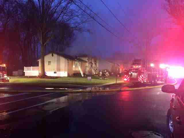 EARLY MORNING CHRISTAS DAY FIRE IN CHERRY HILL – REHAB 13 REQUSTED FOR SCENE SUPPORT
