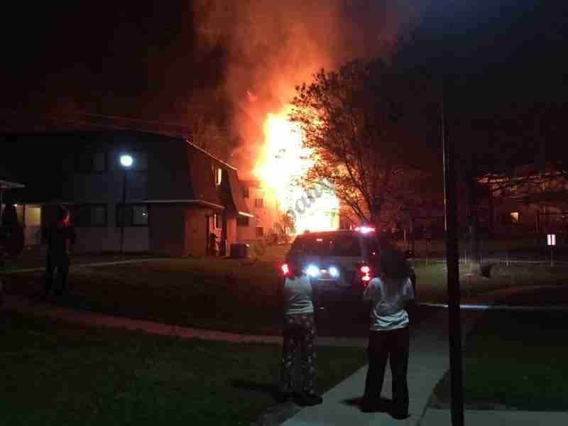PINE HILL MANSION APARTMENTS GOES TO A THIRD ALARM WITH SPECIAL CALL FOR A TENDER TASK FORCE