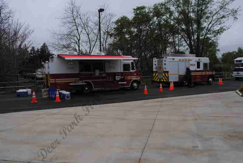 REHAB 13 REQUESTED FOR SUPPORT AT THE VIRTUA EMT PRACTICAL EVOLUTIONS AT TABERNACLE RESCUE SQUAD BURLINGTON COUNTY ON SATURDAY MORNING
