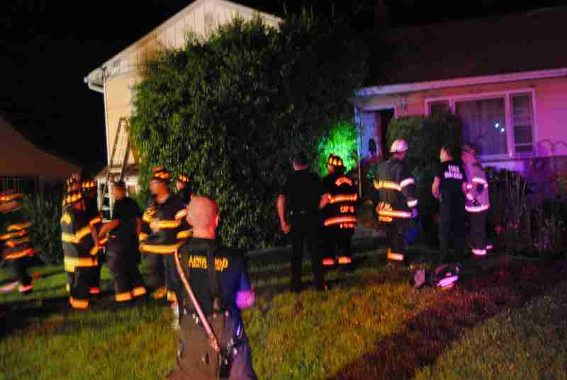 REHAB 13 GOES TO HADDON TWP WESTMONT'S LOCAL FOR THE DWELLING FIRE OVERNIGHT