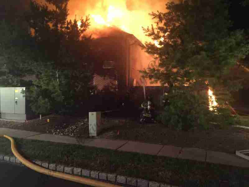 SHORT HILLS S.C. FIRE OVERNIGHT, GOES TO A 2ND ALARM ASSIGNMENT – REHAB 13 NOTIFIED ON THE ALL HANDS BOX