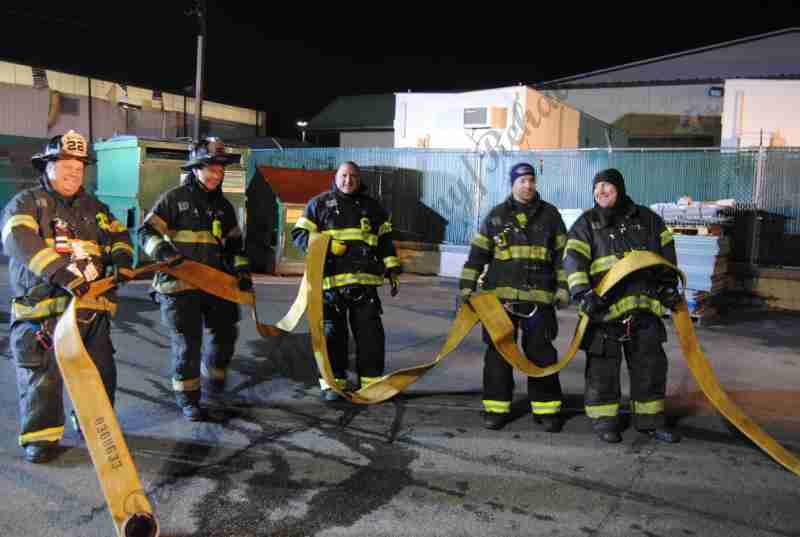 CHEERY HILL HAZ MAT AND FIRE INCIDENT GOES ALL HANDS FRIDAY EVENING