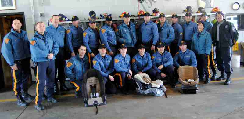 SLOW START TO 2017 FOR REHAB 13 – CHILD SAFETY SEAT PROGRAM FRIDAY MORNING MARCH 10, 2017