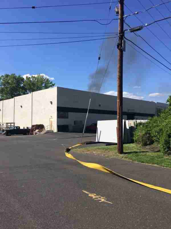 CHERRY HILL COMMERCIAL BUILDING FIRE – ALL HANDS TUESDAY AFTERNOON – REHAB ON THE ALL HANDS FOR PERSONNEL SUPPORT