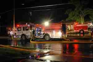Early Morning Building Fire In Stratford Goes All Hands