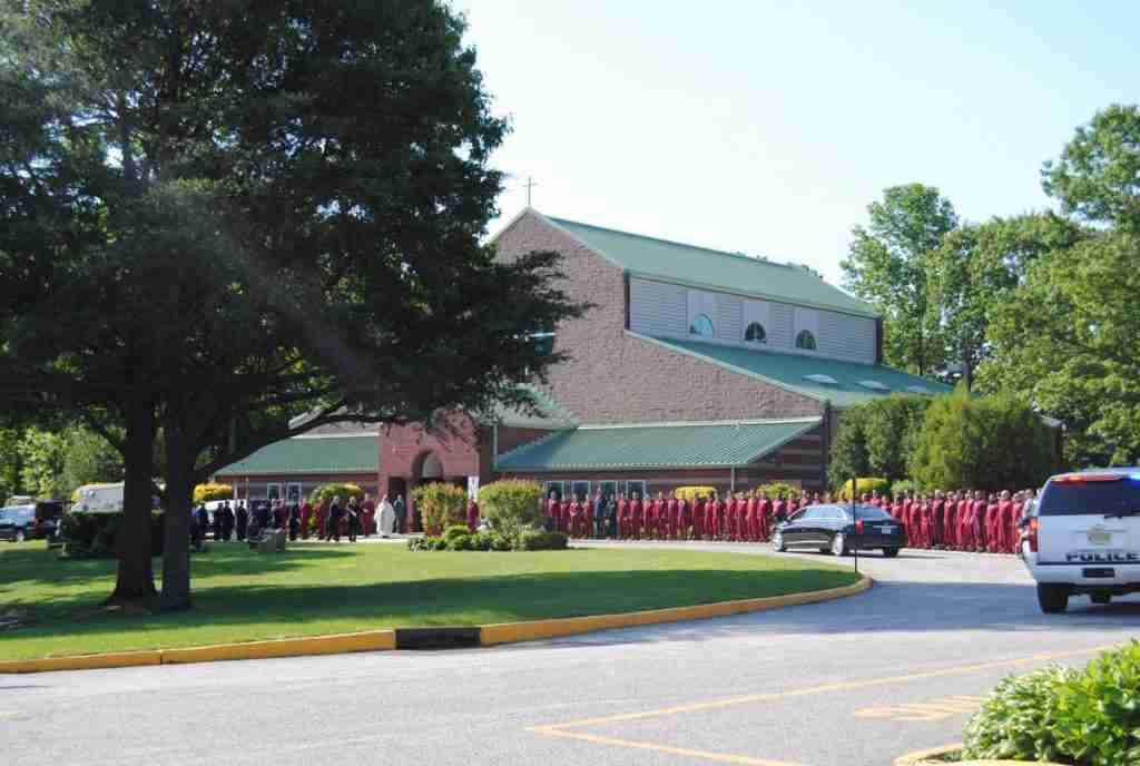 FUNERAL FOR FALLEN PENNSTAR PILOT MIKE MURPHY IN WATERFORD TWP – REHAB 13 IN ATTENDANCE FOR PERSONNEL SUPPORT