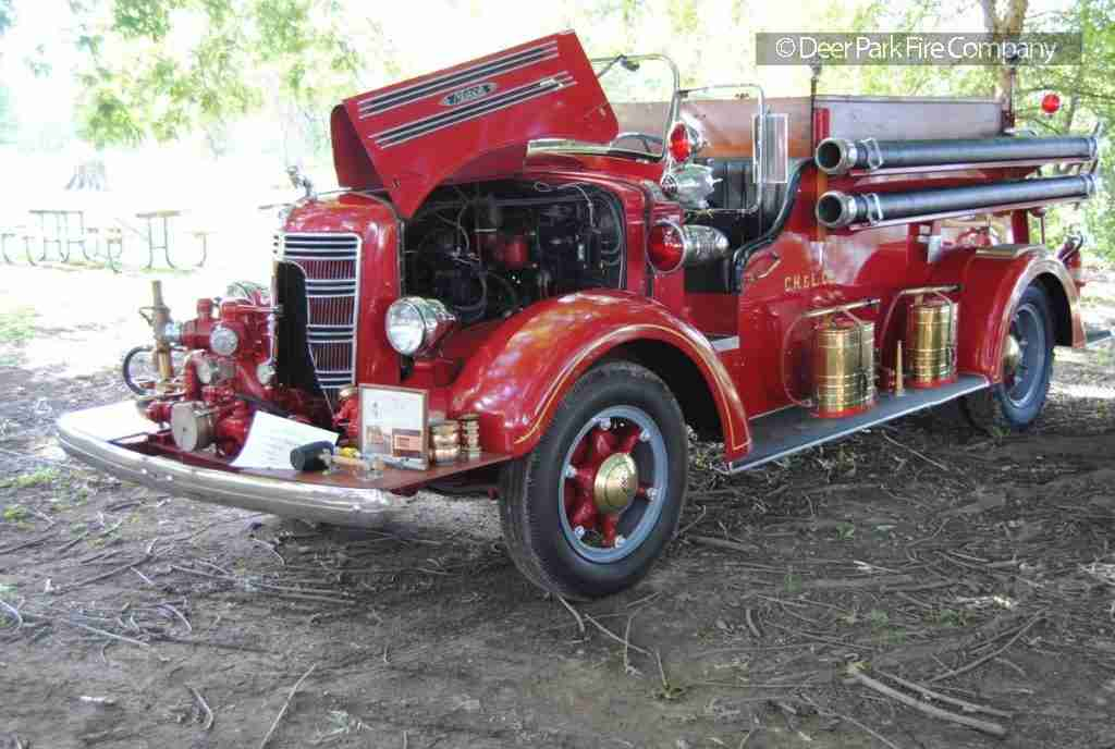 DEER PARK FIRE COMPANY ATTENDS ITS FIRST CRADLE OF LIBERTY ANTIQUE FIRE APPARATUS MEET – WINS FIRST PLACE AWARD FOR OUR 1939 MACK PUMPER