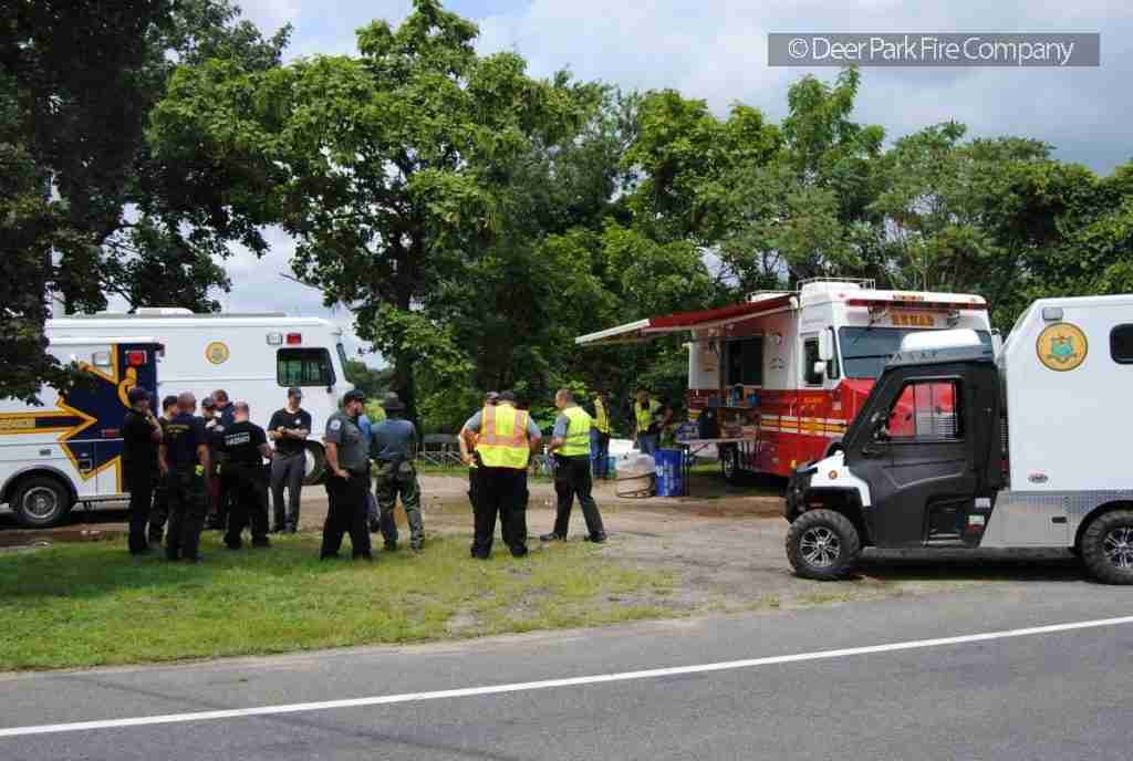 MANTUA TOWNSHIP POLICE ENCOUNTER A HAZARDOUS MATERIALS INCIDENT – REQUEST REHAB 13 TO THE SCENE FOR PERSONNEL SUPPORT