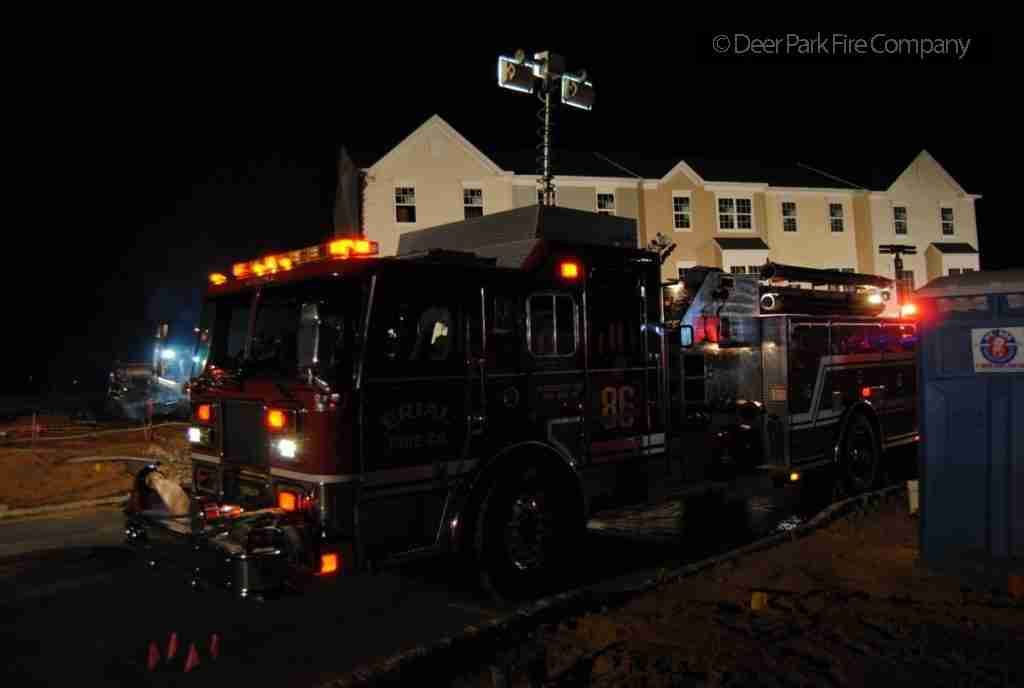 GLOUCESTER TOWNSHIP ALL HANDS TOWNHOUSE FIRE – UNDER CONSTRUCTION  – REHAB 13 ON THE ALL HANDS FOR PERSONNEL SUPPORT