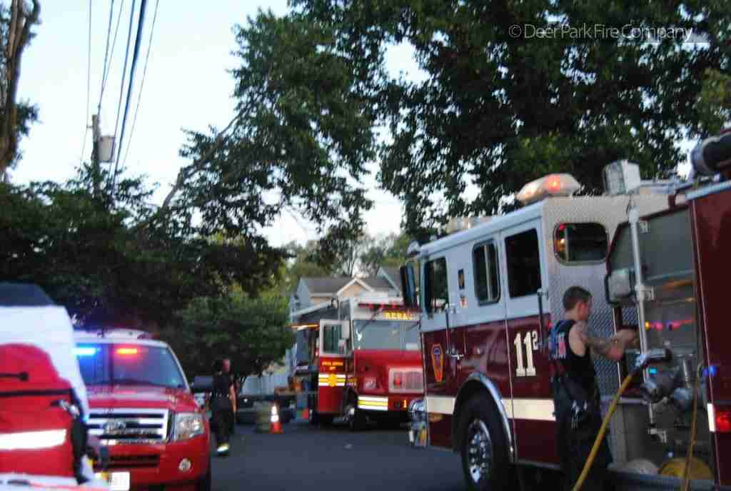 JULY 15 – COLLINGSWOOD DWELLING FIRE IN THE HEAT OF THE EVENING – REHAB 13 SPECIAL CALLED TO THE SCENE FOR PERSONNEL SUPPORT
