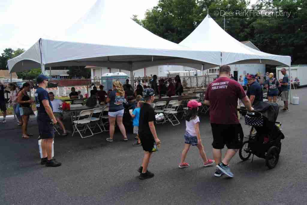 AUGUST 8 2018 – REHAB 13 ASSISTS AT THE LINDENWOLD NATIONAL NIGHT OUT EVENT AT THE LINDENWOLD PARK – UNITED STATES AVENUE