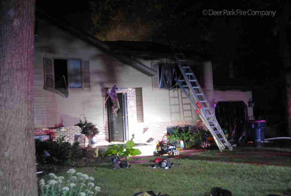September 7 2018 – REHAB 13 IS DISPATCHED TO THE ALL HANDS FIRE OVERNIGHT IN BERLIN TOWNSHIP FOR THE DWELLING FIRE