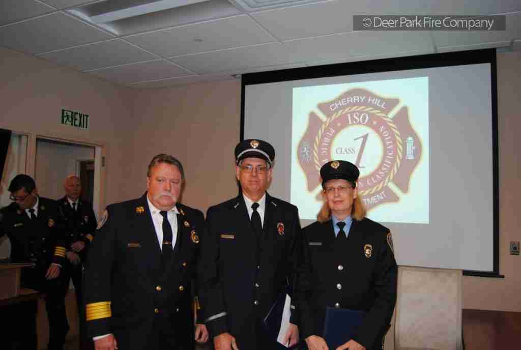 OCTOBER 18 2018 – CHERRY HILL FIRE DEPARTMENT ANNUAL AWARDS CEREMONY HELD AT CENTRAL COMMAND – UNIT CITATION TO REHAB 13 MEMBERS