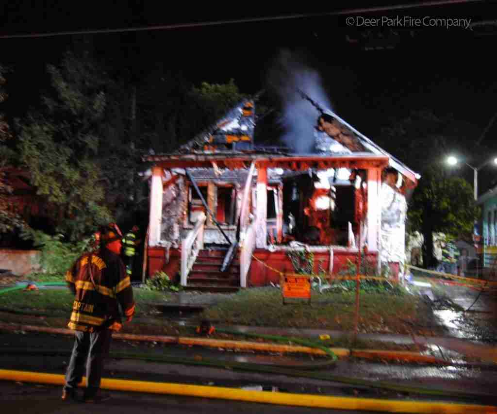 OCTOBER 21 2018 – EARLY MORNING DWELLING FIRE IN WESTMONT (HADDON TWP) IN THE UNIT BLOCK OF CARLTON AVENUE – ALL HANDS DECLARED – REHAB 13 GOES TO RUN NO 3 FOR THE WEEKEND – PERSONNEL SUPPORT
