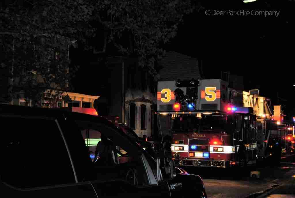 OCTOBER 15 2018 – BURLINGTON CITY DWELLING FIRE THURSDAY NIGHT – REHAB 13 SPECIAL CALLED FOR PERSONNEL SUPPORT AT THE SCENE