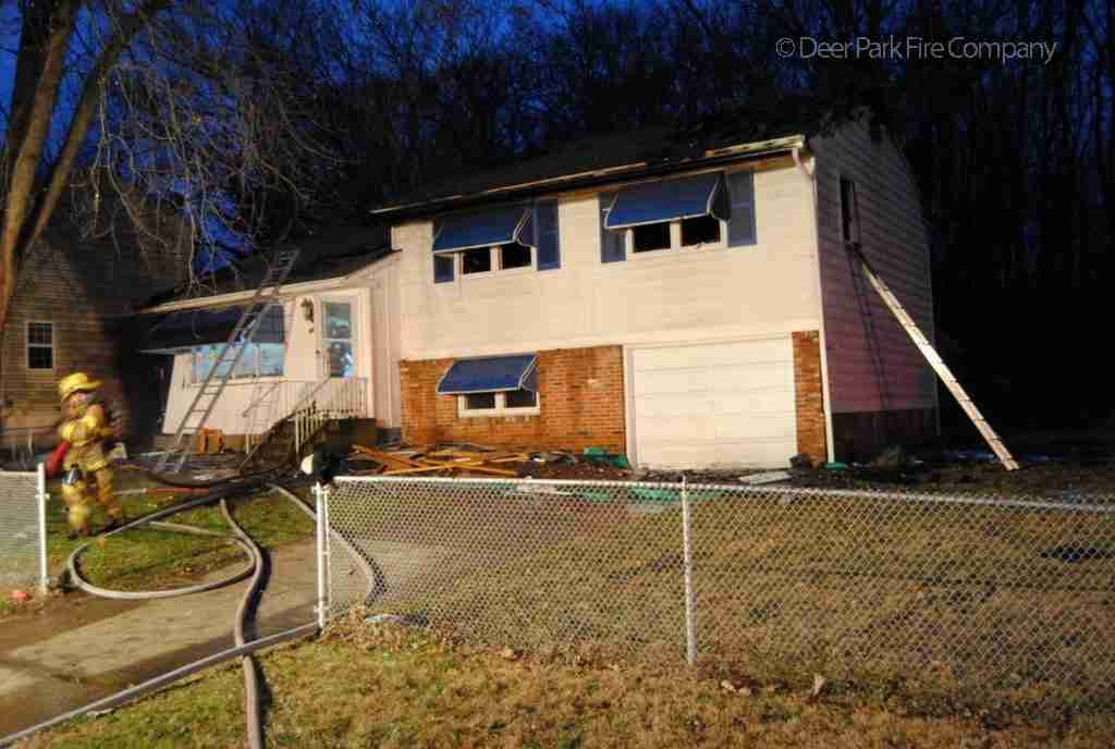 DECEMBER 12, 2018 – PENNSAUKEN FIRE HAS A BUSY DAY (3 WORKING JOBS) AND REHAB 13 IS CALLED FOR THE DWELLING FIRE ON FORREST AVENUE FOR PERSONNEL SUPPORT