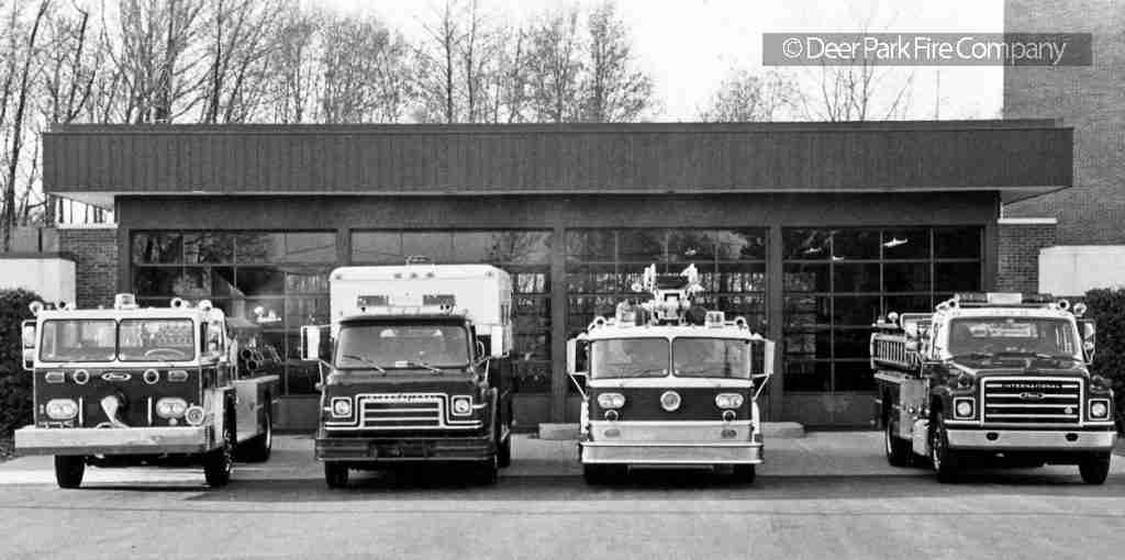 DECEMBER 3, 2018 – A LOOK BACK AT THE DEER PARK FIRE COMPANY PRIOR TO 1994