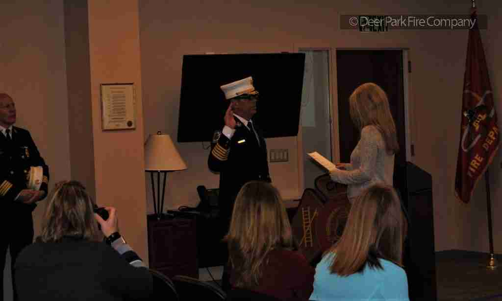 JANUARY 3, 2019 – CHRIS CALLAN IS SWORN IN AS THE NEW CHERRY HILL FIRE DEPARTMENT CHIEF